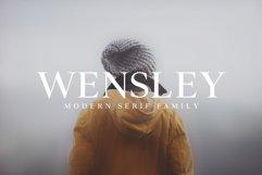 Wensley Modern Serif Font Family Product Image 1