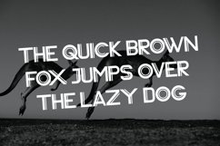 Web Font Vardy Display Typeface Product Image 6