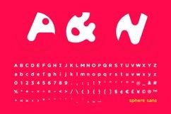 Sphere Sans Typeface Product Image 2