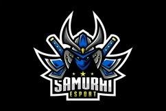 samurai gaming logo design vector Product Image 1