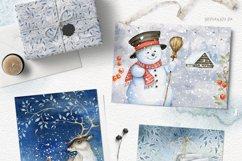 Magic Winter Watercolors. SALE! Product Image 3