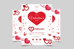 Valentines Day Flyer Template Product Image 1