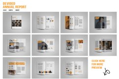 Devided Annual Report Template Product Image 6
