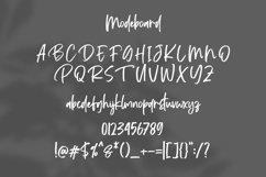 Modeboard | Handwritten Script Font Product Image 3