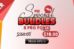 Special Bundles 5 Premium pro Fonts Product Image 2
