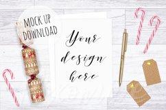 Christmas Card Mockup Bundle Product Image 3