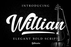 Willian Elegant Bold Script Product Image 1