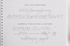 Stay Late - A Handwritten Font Product Image 6