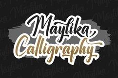Maylika - calligraphy font script Product Image 4