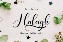 Haleigh Script Product Image 1