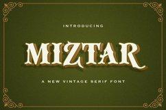 Miztar - Victorian Style Font Product Image 1