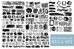 Brush Splash mega set - pattern art Product Image 4