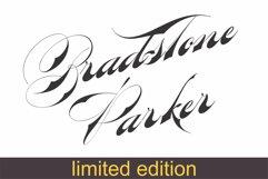 Bradstone-Parker Script  (limited version) Product Image 1