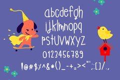 Monster Playground Handwritten- cute kid font Kawaii style! Product Image 5