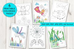 Coloring Pages with insects Product Image 1