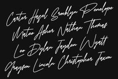 Billy Okma Signature Font Product Image 5