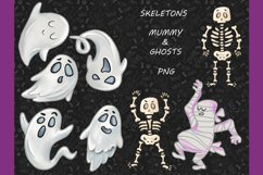 Halloween CLIPART, Fall clipart, Pumpkin clipart, PNG files Product Image 3