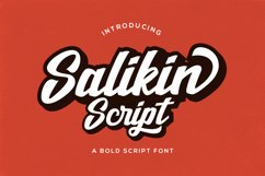Salikin Script Product Image 2