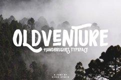 Oldventure - Handbrushes Typeface Product Image 5