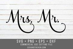 Mr Mrs SVG - Wedding Svg Product Image 2