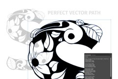 Batik India Black Font Product Image 3
