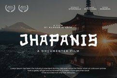 Jhapanis Font Product Image 1