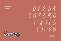 Barelang - A Modern Script Typeface Product Image 4