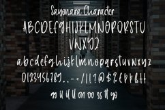 Sayonara - Beauty Handwritten Font Product Image 5