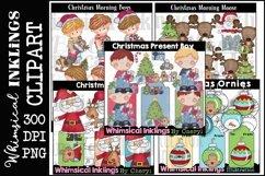 Sweet Christmas -Huge Christmas Clipart Bundle Product Image 5