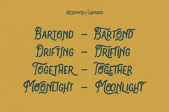 Bartond Typeface Product Image 3