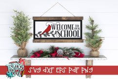 Welcome Cardinal SVG Product Image 1