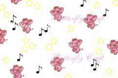 Sweet dreams digital paper, Baby shower paper Product Image 4