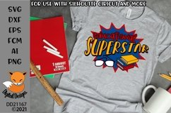 Educational Superstar Teacher SVG Product Image 1