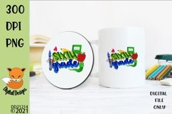 Back to School Sixth Grade Sublimation Design Product Image 1