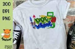 Back to School Pre-School Sublimation Design Product Image 1