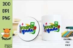 Back to School Fourth Grade Sublimation Design Product Image 1