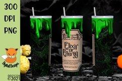 Elixir of Energy Skinny Tumbler Wrap Sublimation Product Image 1