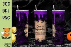 Magic Potion Skinny Tumbler Wrap Sublimation Product Image 1
