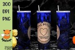 Magic Love Potion Skinny Tumbler Wrap Sublimation Product Image 1