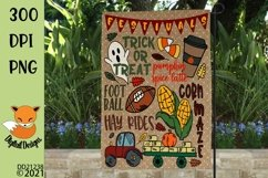 Fall Favorites Sublimation Design for Flag Product Image 1