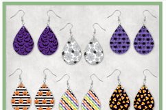 Halloween Sublimation Teardrop Earring Bundle Product Image 2