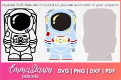 ACE THE ASTRONAUT SVG CUTE DESIGN Product Image 3