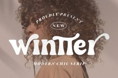 Wintter Modern Chic Serif Product Image 1