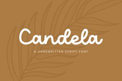 Candela Handwritten Script Font Product Image 1