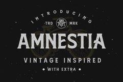 Amnestia Typeface with Extra Product Image 1