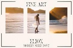 Eliox Modern Serif font Product Image 5