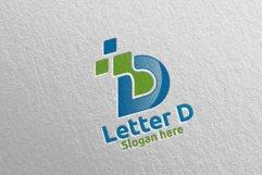 Digital Letter D Logo Design 2 Product Image 3