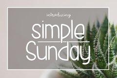 Simple Sunday Product Image 1