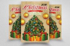 10 Christmas Celebration Flyers Bundle Product Image 2