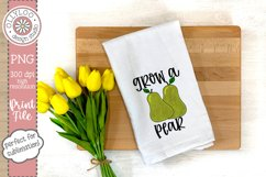 Grow A Pear | Food Pun | Sublimation PNG Product Image 2